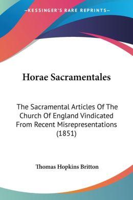 Horae Sacramentales