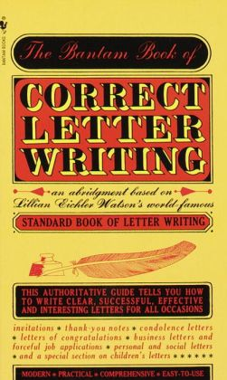 Bantam Book of Correct Letter Writing