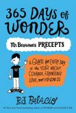 Book Cover Image. Title: 365 Days of Wonder:  Mr. Browne's Book of Precepts (PagePerfect NOOK Book), Author: R. J. Palacio