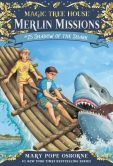 Book Cover Image. Title: Magic Tree House #53:  Shadow of the Shark, Author: Mary Pope Osborne