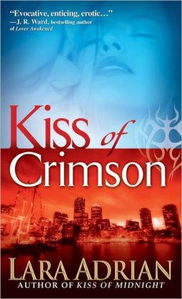 Kiss of Crimson (Midnight Breed Series #2)