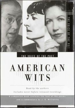 The Voice of the Poet: American Wits; Audio CD