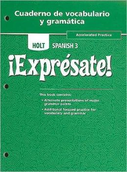 Pensembprimal34s soup holt spanish 2 expresate workbook answer fandeluxe Image collections