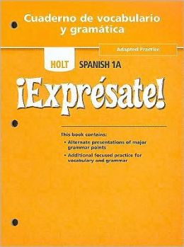 Expresate!: Spanish 1a - Workbook