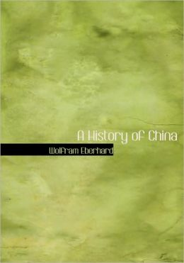 A History Of China (Large Print Edition)