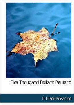 Five Thousand Dollars Reward (Large Print Edition)
