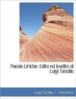 Poesie Liriche