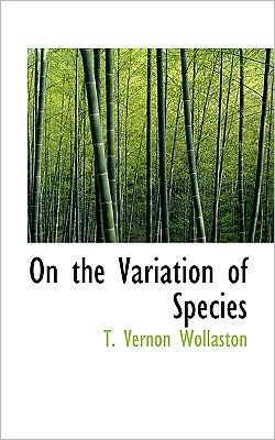 On the Variation of Species
