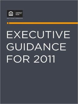 Executive Guidance for 2011