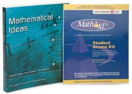 Mathematical Ideas with Math XL Student Access Kit 12 Month Access and Pearson Online Access