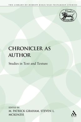 Chronicler As Author