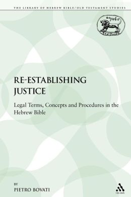 Re-Establishing Justice