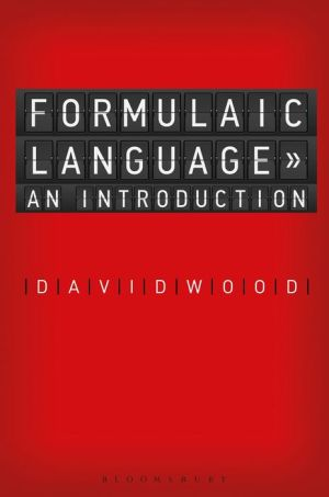 Fundamentals of Formulaic Language: An Introduction