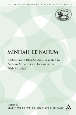 Minhah Le-Nahum