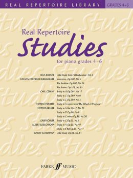 Real Repertoire Studies for Piano: Grades 4-6