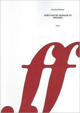 Serenade -- Homage to Mozart: Score