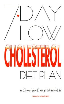 7-Day Low Cholesterol Diet Plan: To Change Your Eating Habits for Life