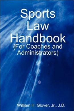 Sports Law Handbook