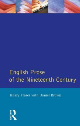 English Prose of the Nineteenth Century