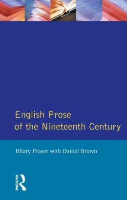 English Prose of the Nineteenth Century