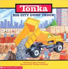Tonka Big City Dump Truck