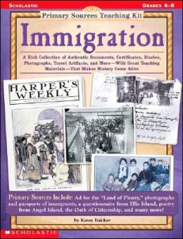 Primary Sources Teaching Kit: Immigration