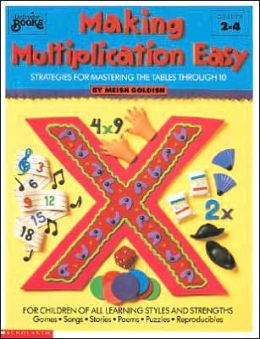 Making Multiplication Easy: Strategies for Mastering the Tables Through 10