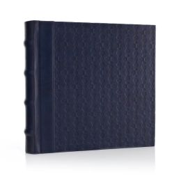 Jonathan Adler Meadow Mosaic Navy Photo Album (9.5x2.9)