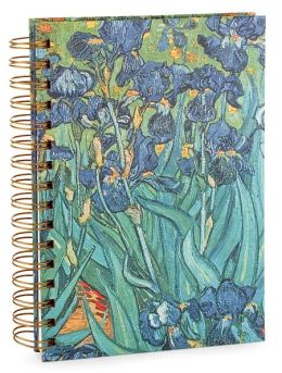 Van Gogh Flowers Lined Journal 6x8