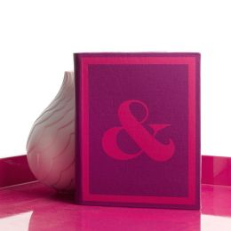 Jonathan Adler Punctuation Cover in Violet