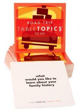 Road Trip Table Topics To Go Mini Kit