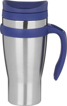 Drivetime Stainless Steel with Purple Mug