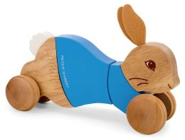 Peter Rabbit Wooden Pull Along Toy