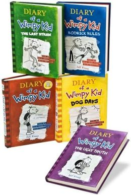Diary of a Wimpy Kid 5 Book Set