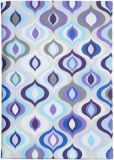 Product Image. Title: Jonathan Adler Bargello Waves Cover in Purple
