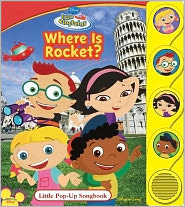 Where is Rocket?: Little Pop-Up Sound Book