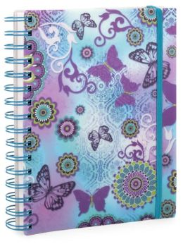 Butterfly Lace Pearl Lined Journal (6