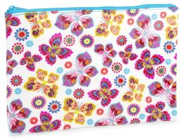 Butterfly Scroll Accessory Pouch (7 x 10)