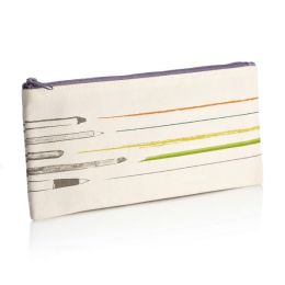 Drawing Canvas Pencil Pouch (4 x 9)
