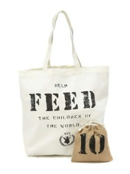 FEED 10 Bag with Drawstring Pouch