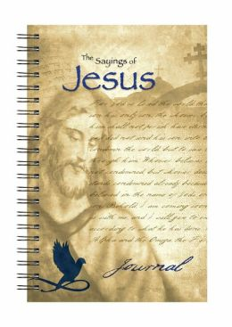 Wire-o Journal - Jesus - Quote - Medium - Lined both Sides