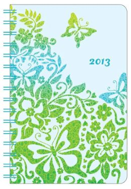 2013 Weekly 5x8 Citrus Tropic Wiro Engagement Calendar