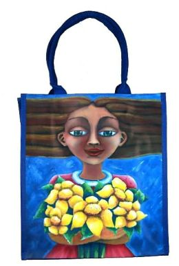 Floral Offerings Hispanic Heritage Tote Bag (12.25