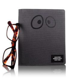 Jack Spade Novelty Eyes Cover in Grey