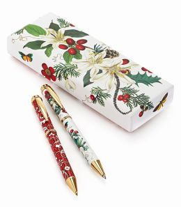 Memento Pen & Mechanical Pencil Set with 24K Gold Plated Accents
