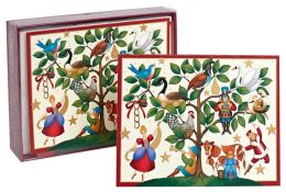 12 Days of Christmas Christmas Boxed Card