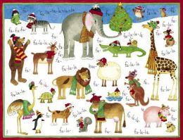 Fa-la-la Christmas Boxed Card