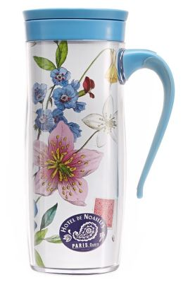 Hummingbird Cosmic Tumbler with Handle