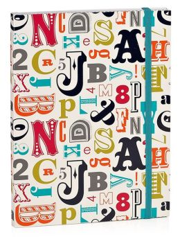 Jonathan Adler Multi Alphabet Journal (6x8)