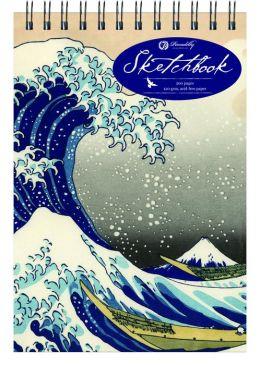 Hokusai Wave - Medium - Top Spiral